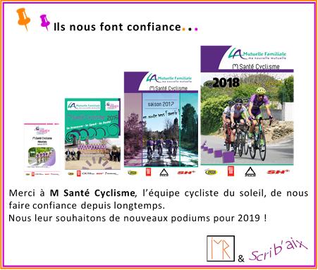 Inmediasres et scrib aix remercient msantecyclisme